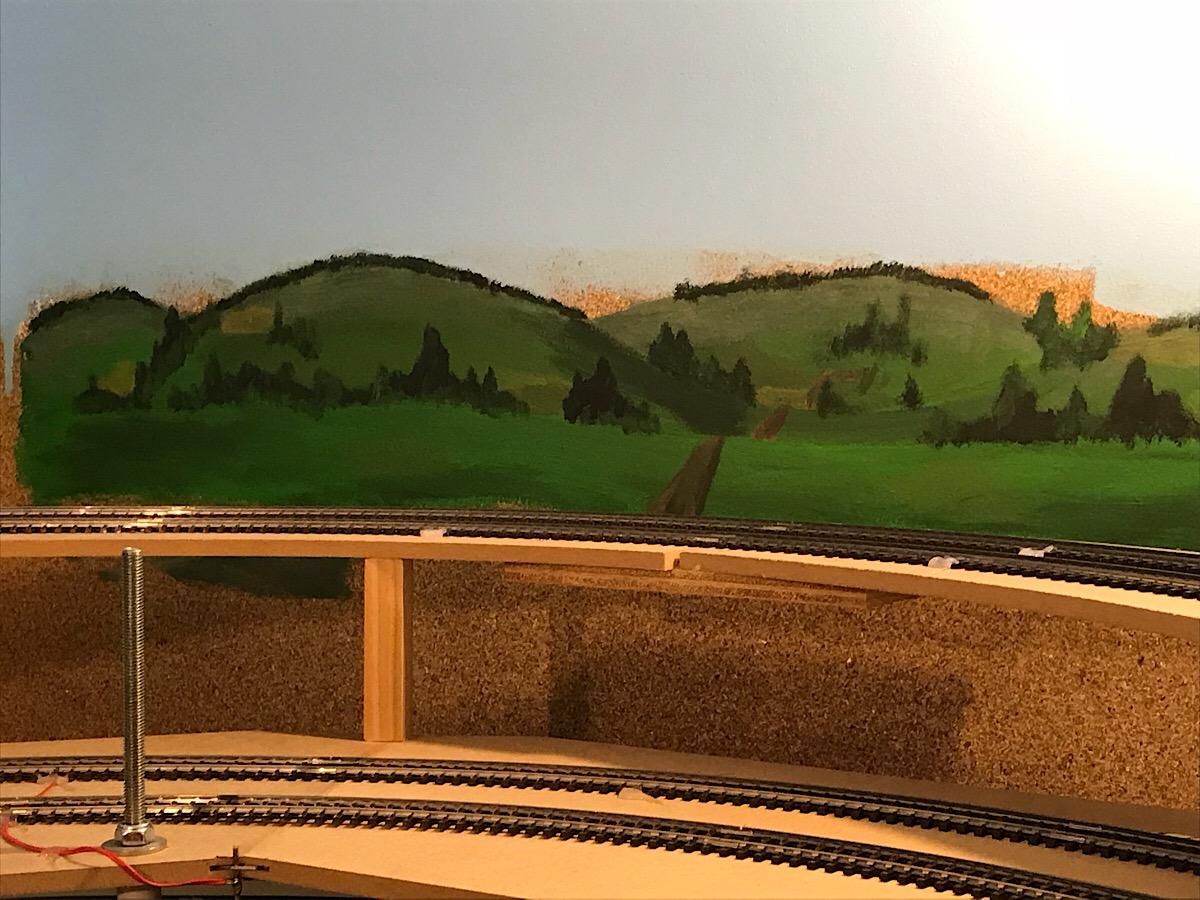 Us modellbahn hintergrund
